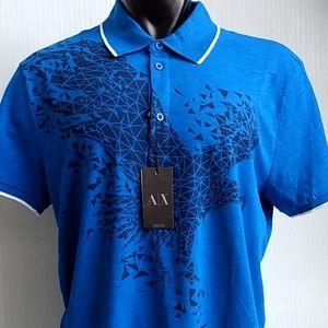 Armani Exchange Men's Polo Shirt XXL